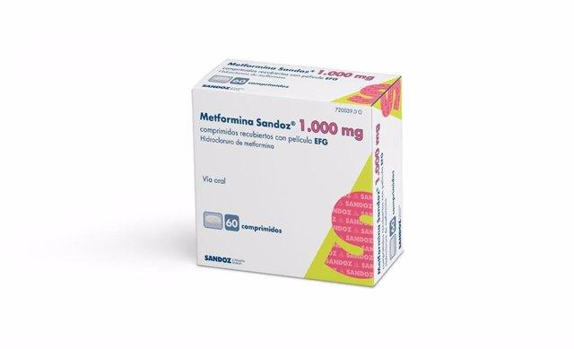Empresas.- Sandoz lanza 'Metformina Sandoz' 1.000 mg en comprimidos para el trat