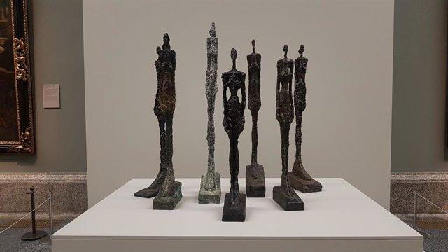 """Alberto Giacometti será """"un visitante de tránsito en el Prado"""" en la primera exh"""