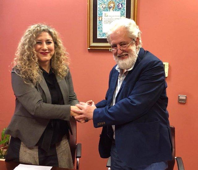 Sevilla.- Ayuntamiento de Alcalá firma un convenio con UPTA-A para el fomento de