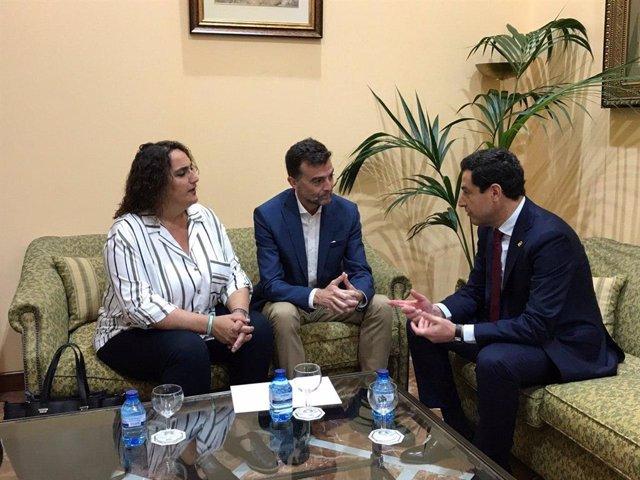 Moreno garantiza total colaboración tras el informe europeo sobre Doñana y Adela