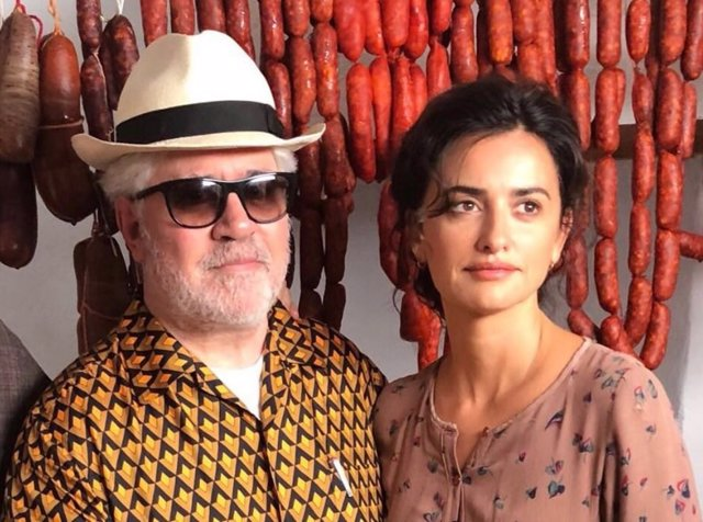 Pedro Almodóvar y Penélope Cruz