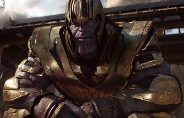 Thanos en Vengadores: Infinity War