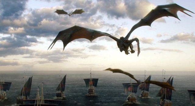 Dragones en Juego de tronos