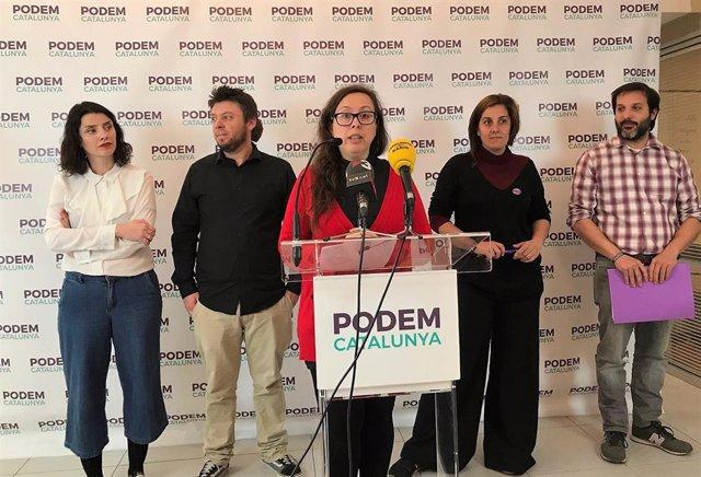 28A.- Bail (Podem) demana consensuar un referndum sobre Catalunya