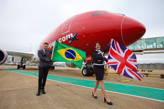 Norwegian inaugura su primera ruta en Brasil que une Londres con Río de Janeiro
