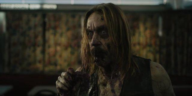 El zombie Iggy Pop