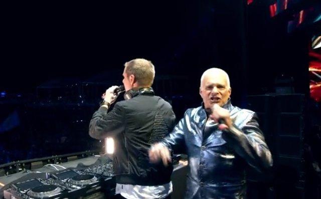 David Lee Roth canta Jump de Van Halen en versión EDM con Armin Van Buuren en el