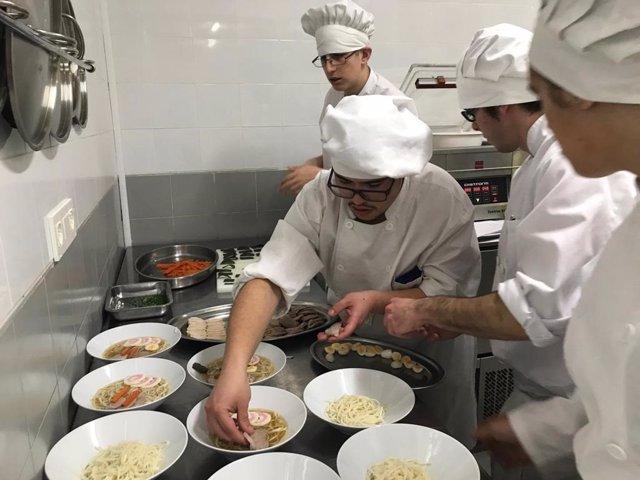 Docentes y alumnos de las escuelas de hostelería de Aragón compartirán experienc