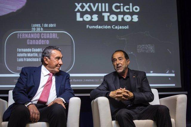 Huelva.- Cajasol.- El ganadero Fernando Cuadri, primer protagonista del XXVIII C