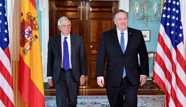 Spanish Foreign Minister Josep Borrell in Washington