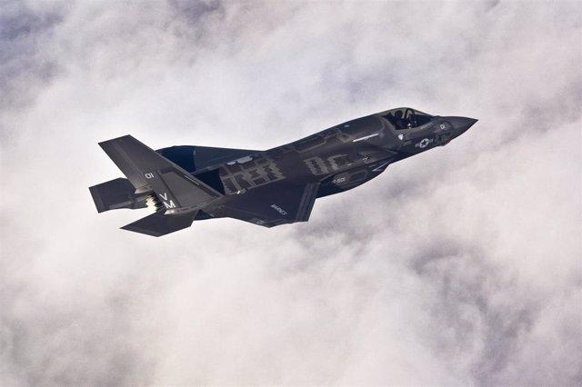 Caza Lockheed Martin F-35B Lightning II de Estados Unidos