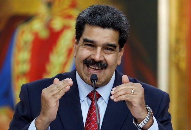 """AMP.- Venezuela.- Maduro crea una comisión para investigar el """"ciberataque"""" al s"""