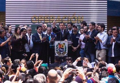 """Guaidó destaca la """"falta de valor"""" del Supremo al no revocar directamente su inmunidad parlamentaria"""