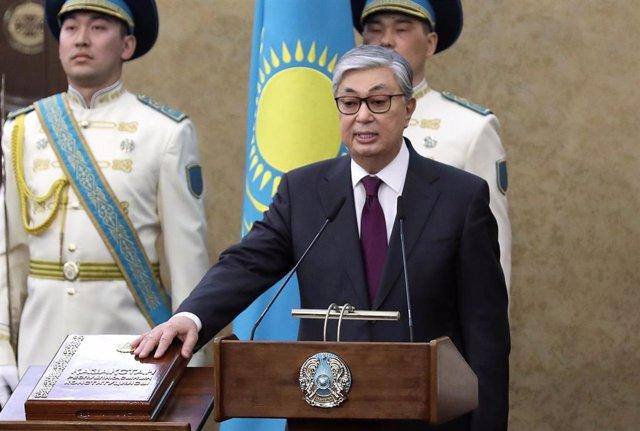Kazajistán.- El nuevo presidente de Kazajistán propone rebautizar la capital con