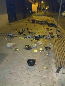Sucesos.- Detenido en Valladolid por un presunto maltrato a su madre y arrojar m