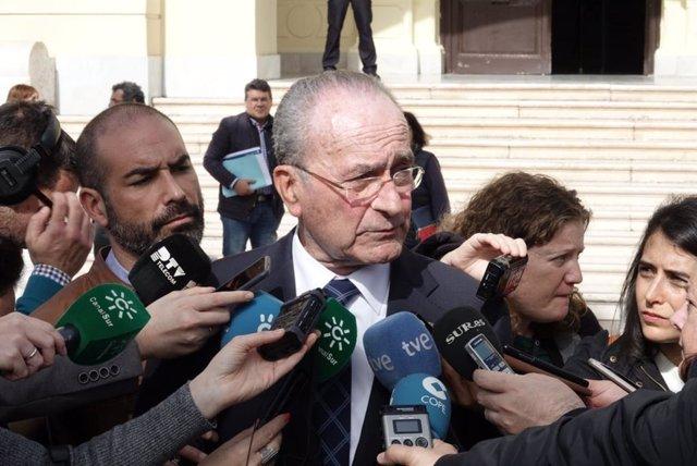 """Málaga.- De la Torre destaca la """"transparencia total y absoluta"""" sobre Cifal"""