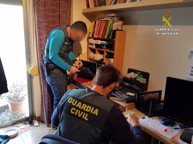Sucesos.-Dos detenidos en Palma y Santa María en una operación contra el tráfico
