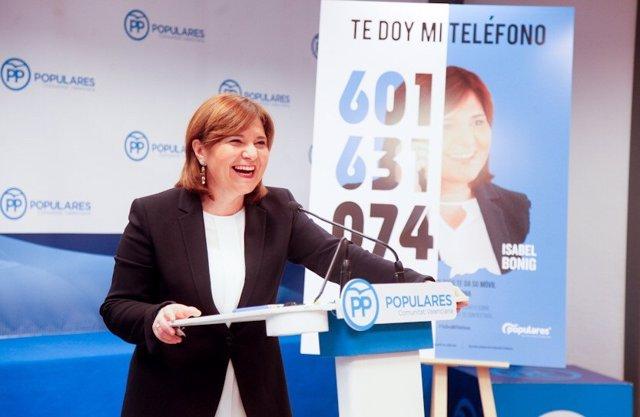 """Bonig assegura que Pons i Margallo són """"dos grans referents"""" per a """"barallar pel"""
