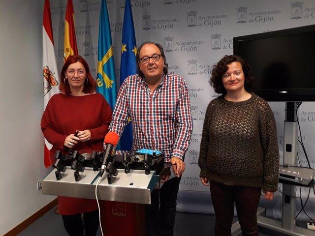 Concejales de Xixón Sí Puede del Ayuntamiento de Gijón