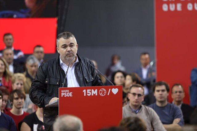 """28A.- Cerdán afirma que """"la derecha navarra volverá a votar contra un Gobierno d"""