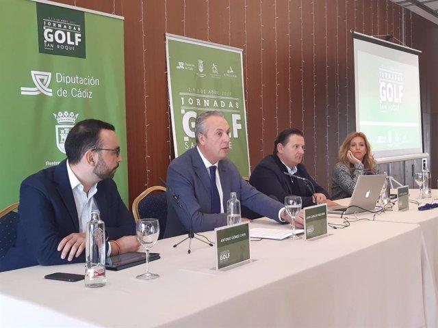CádizAlDía.- San Roque analiza las potencialidades de la industria del golf y su