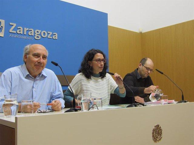 Zaragoza.- Giner destaca que las colonias Mira! y Etopia Kids fomentan la creati