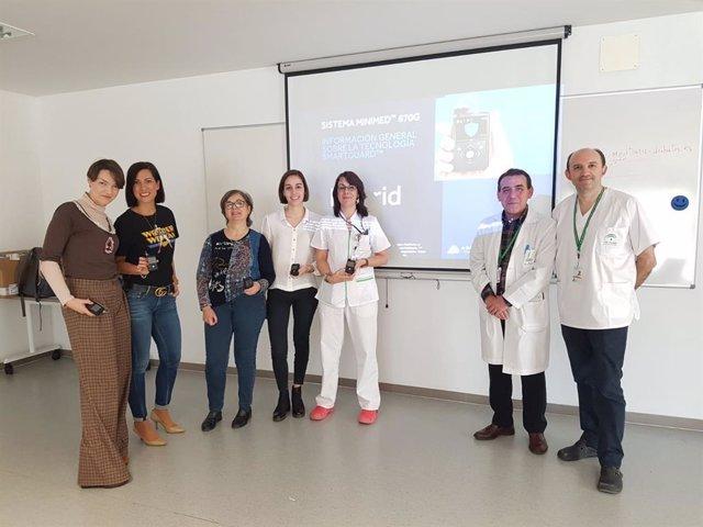 Granada.- El Hospital San Cecilio pilota el uso de bombas de insulina inteligent