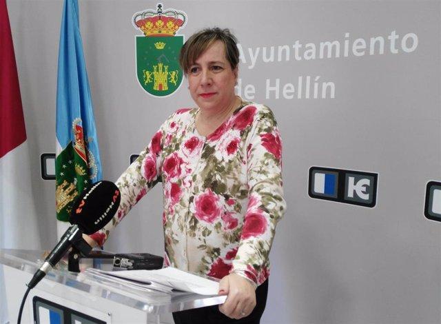 María Jesús López, portavoz Cs Hellín