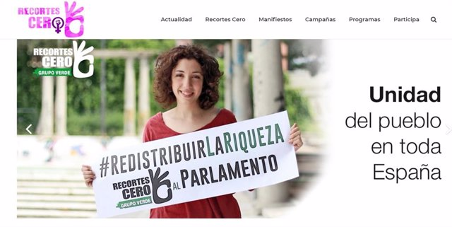28A.- Recortes Cero Presume De Ser El Único Partido Que Presenta 52 Mujeres Como