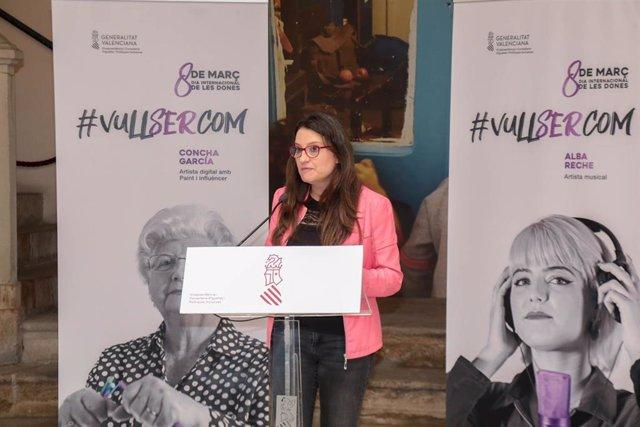 8M.- 'Vull ser com', una campanya per a crear referents femenins i demostrar que