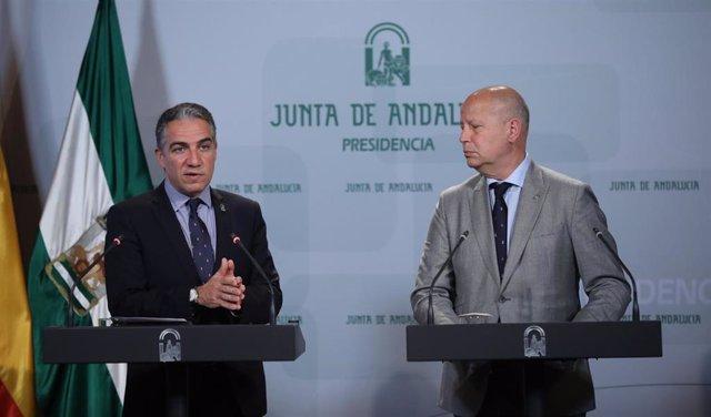 Rueda de prensa posterior a la reunión semanal del Consejo de Gobierno de la Jun