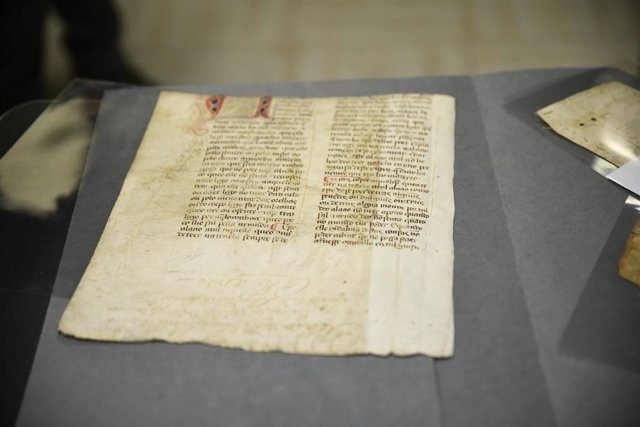 Presentación del recuperado manuscrito medieval del 'Livro da Montaria' en el Mi