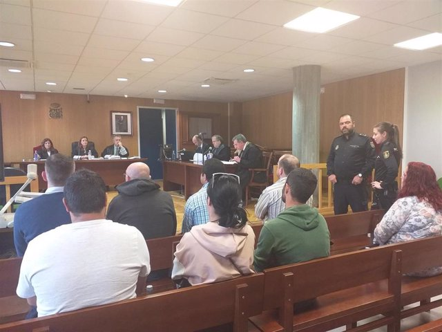 Tribunales.- Fiscalía mantiene la petición penas para los acusados de introducir