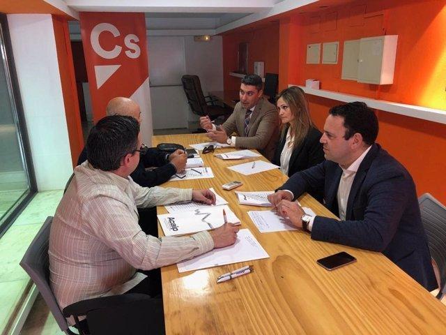 Huelva.- 28A.- Hermoso (Cs) reafirma el compromiso de reconocer a funcionarios d