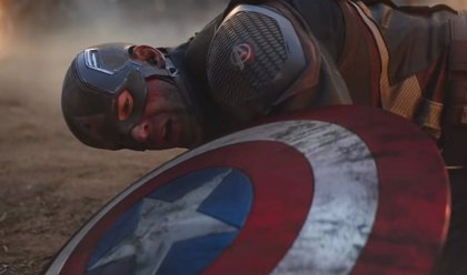Iron Man, Thor y Capitán América vs Thanos en Vengadores: Endgame