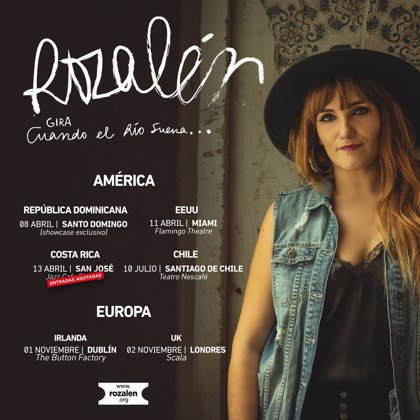 Rozalén sigue 'haciendo las Américas' y visitará también Londres y Dublín