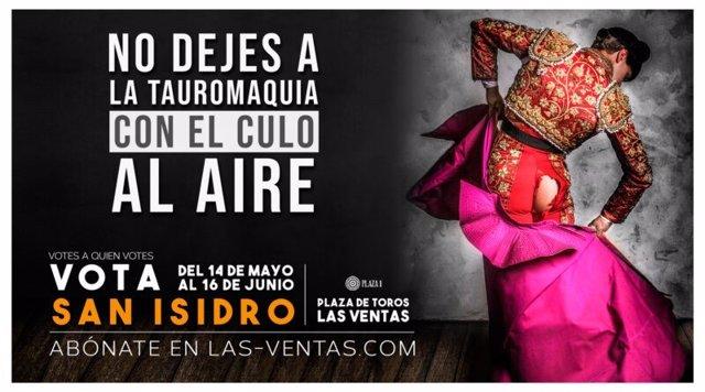 """El jefe de la campaña de publicidad 'Vota San Isidro': """"No queremos que ningún p"""
