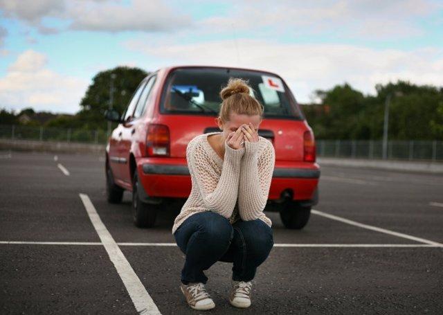 Conducir, miedo, amaxofobia
