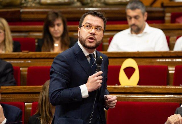 Aragons planteja als grups un acord per condemnar atacs contra partits