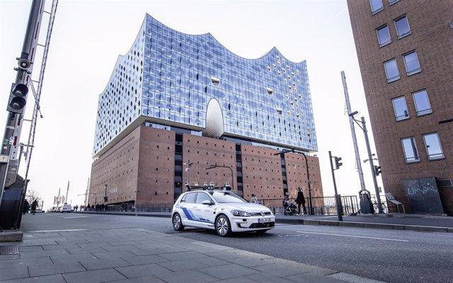 Economía/Motor.- Volkswagen inicia pruebas de conducción autónoma en Hamburgo co