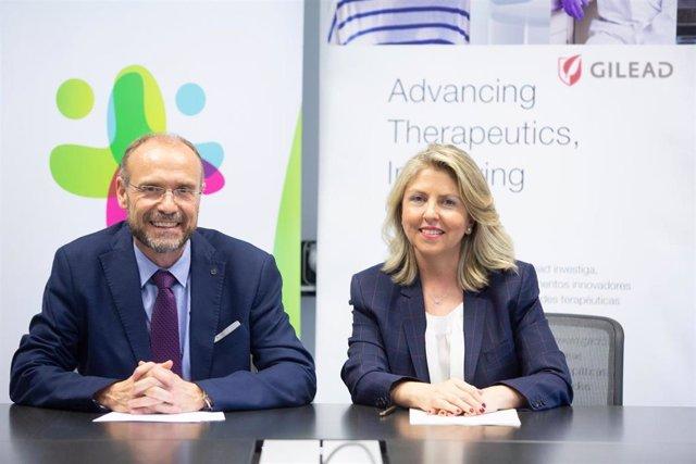 Empresas.- Gilead y la Fundación Humans firman un acuerdo para humanizar la asis