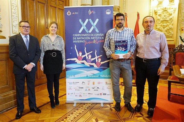 Más de doscientas nadadoras participarán en Valladolid en el XX Campeonato de Es
