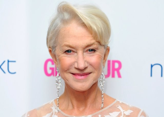 Dame Helen Mirren Attends The Glamour Women Of The Y