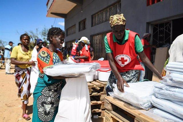 Mozambique.- Cruz Roja consigue hacer llegar ayuda a 2.300 afectados por Idai en