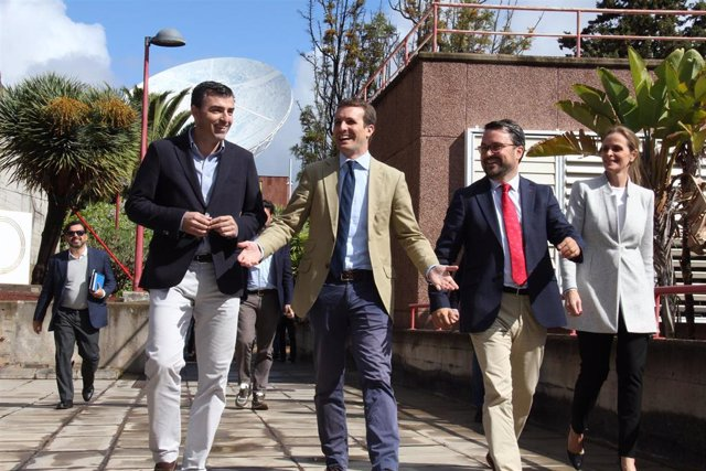 """Casado propone destinar el 2% del PIB a I+D+i para convertir a España en la """"Cal"""