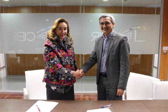 El CIBIR y la UR renuevan un acuerdo de colaboración que ha impulsado 7 proyecto