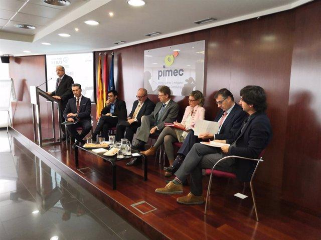 28A.- Candidats Catalans A les Generals Aposten Per Un Rgim Sancionador A