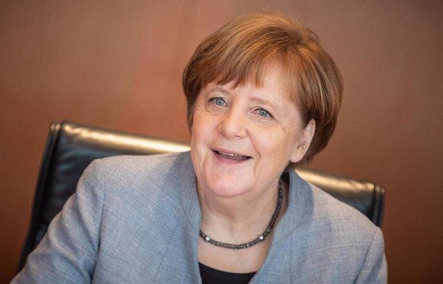 German Cabinet meeting in Berlin