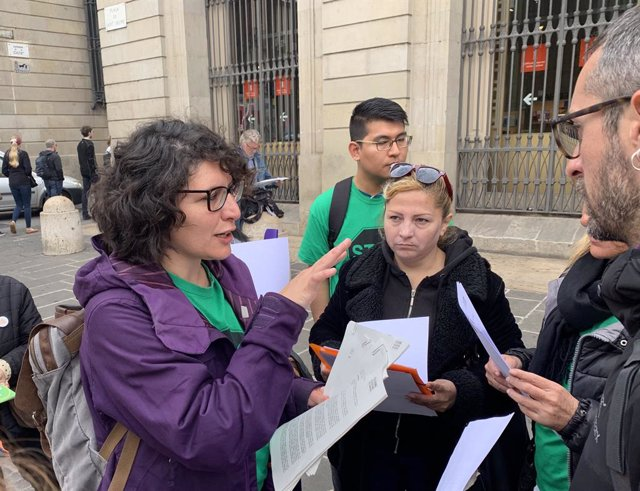 La PAH llana una campanya contra la criminalització de les ocupacions