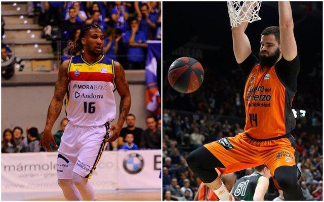 Baloncesto/Eurocup.- Albicy y Dubljevic, incluidos en el quinteto ideal de la Eu
